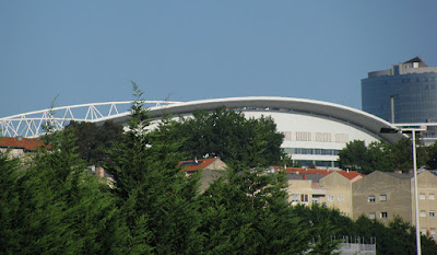 vista do estádio do Dragão