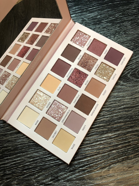 UCANBE Aromas Palette (Mauve Palette/ Huda Beauty New Nude Alternative) Swatches and Revie
