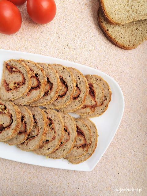 Rolada z mięsa mielonego z serem przepis
