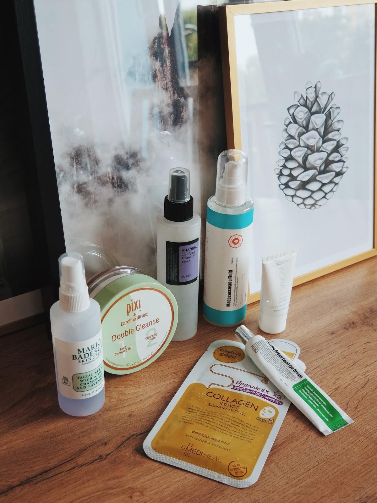 Sobotnie Spa | Delikatne kwasy i regeneracja maseczką Mediheal