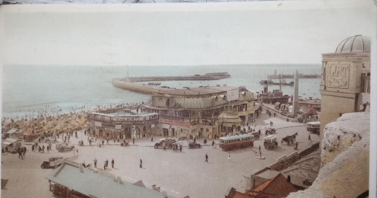 Thanetonline 1936 Postcard Of The Pav A Day In Ramsgate