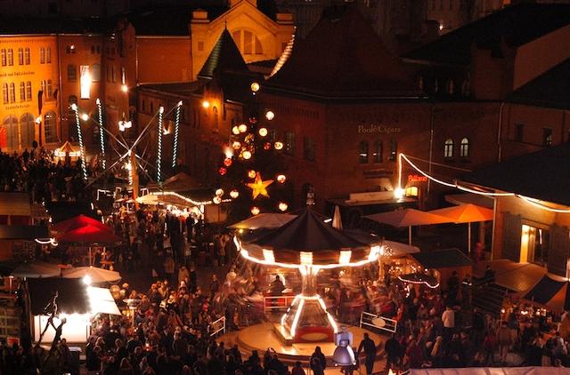 Mercado de Natal Lucia na Kulturbrauerei