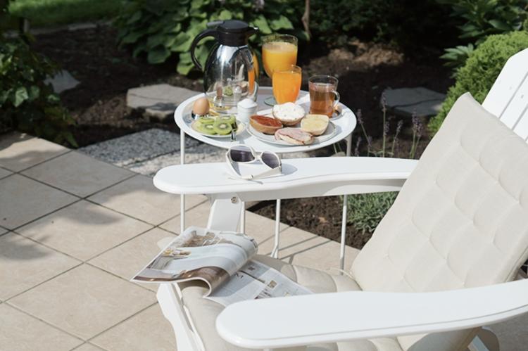 Samstagsfrühstück auf der Terrasse { by it's me! }