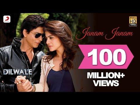 जनम जनम Janam Janam Lyrics  -  Arijit Singh | Shahrukh Khan| Kajal | Dilwale
