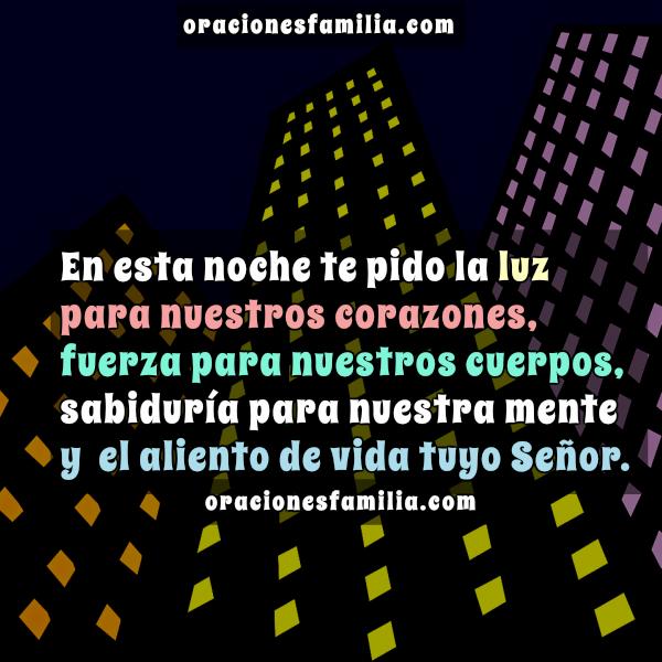 frases con oraciones de familia