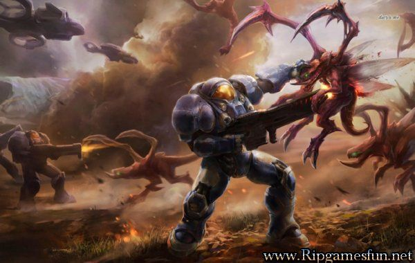 http://www.ripgamesfun.net/StarCraft II: Wings of Liberty-free-download