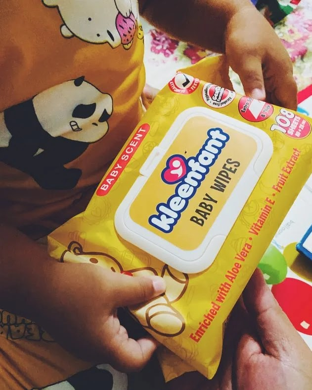 Kleenfant Scented Baby Wipes