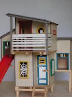 Fára épített ház gyerekeknek, makett