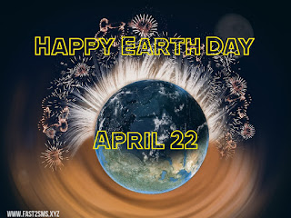 Earth day 2020 pic by fast2smsxyz