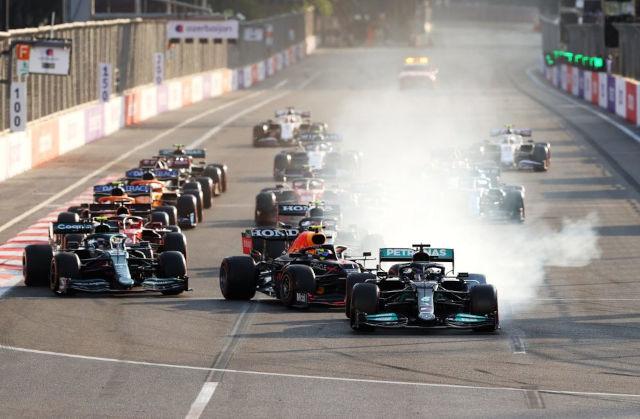 Formula 1 Azerbaijan Grand Prix 2021.06.06
