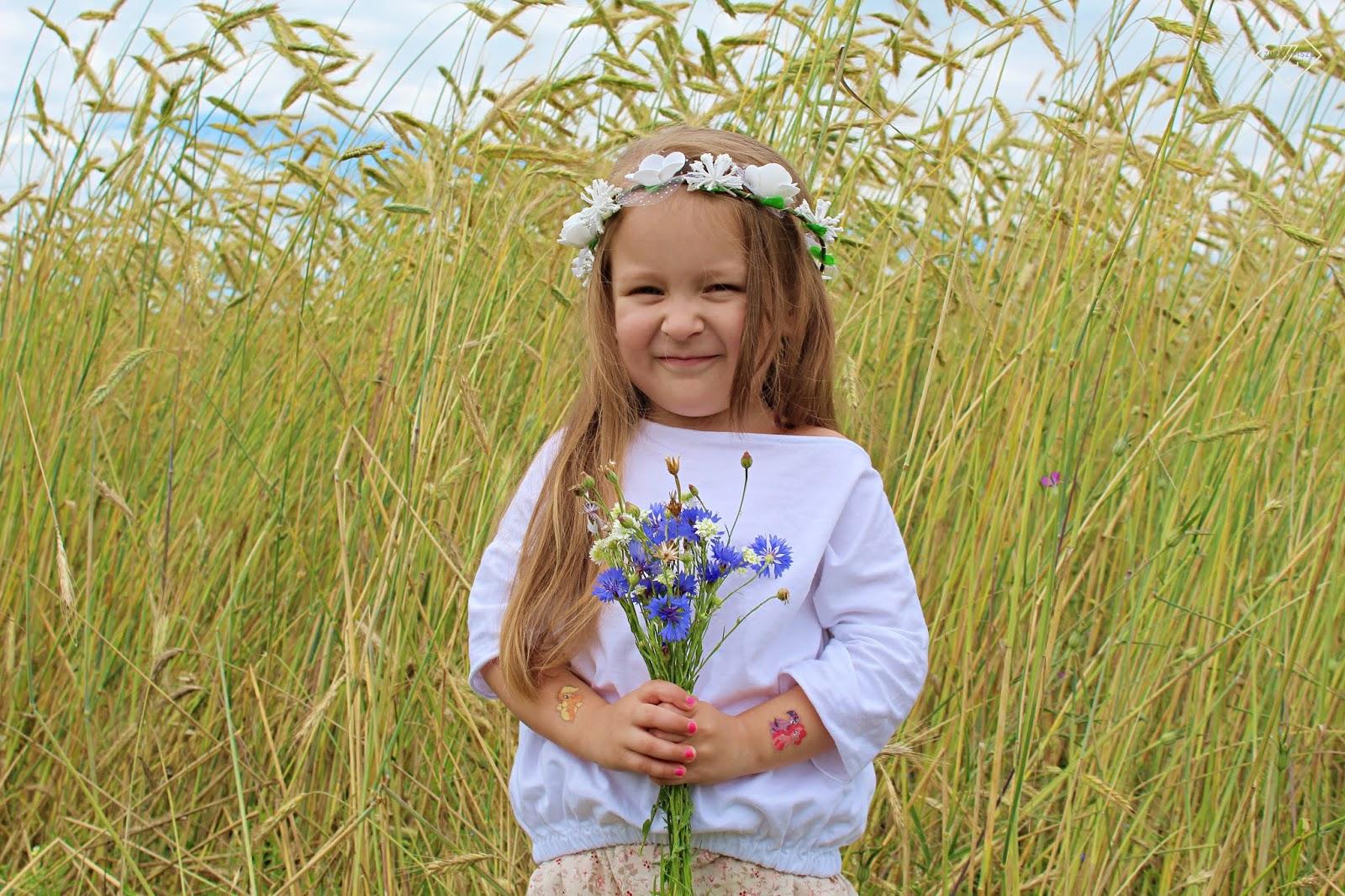 bluzka dla dziewczynki bohemian ypungster