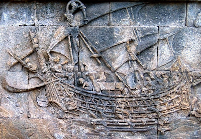 Relief Candi Borobudur, Akulturasi Kebudayaan Nusantara dan Hindu Budha