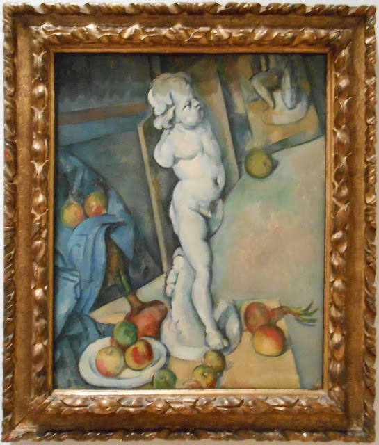 Cézanne still-life with plaster cupid