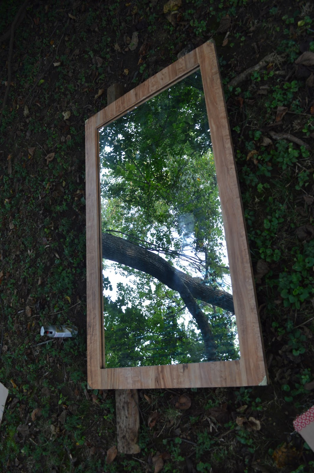 Sylvan Park Life Turning A Thrift Store Mirror Into A
