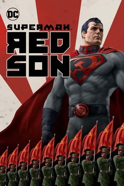 Superman Red Son (2020) English 720p  WEBRip Movie