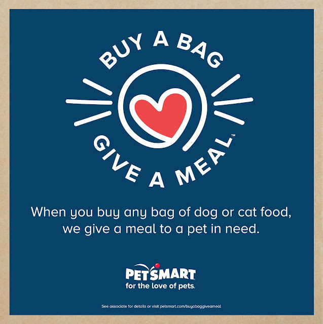PetSmart will donate 60 million meals through Buy a Bag, Give a Meal