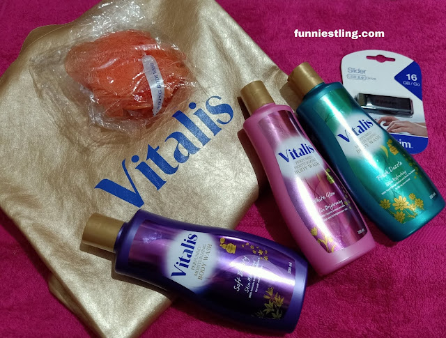 vitalis perfumed moistuzing body wash