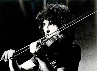 Tony Brower (Violin) on a concert in Hayarkon Park in Tel Aviv Photo by Daniel Matalon