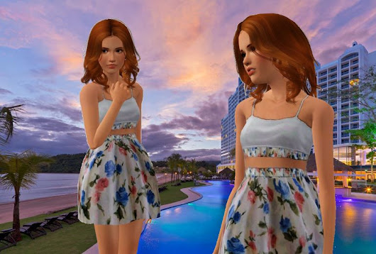 Shanna Sims El Panama Teen Dress