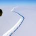 UNA NOTICIA QUE ESTREMECE A LOS CIENTIFICOS, CUANDO DECUBREN LA SEPARACION DEL ICEBERG