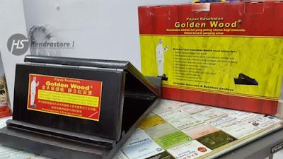 Jual Papan Kesehatan Golden Wood Murah