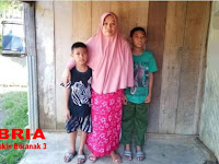 Kasihan, Janda Miskin Beranak Tiga Tak Tersentuh Bantuan Program Keluarga Harapan