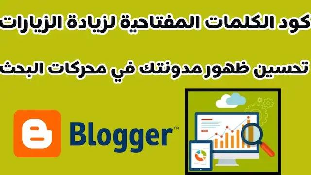 كود الكلمات الدلالية لمواضيع بلوجر لتحسين ظهور المدونة بمحرك البحث