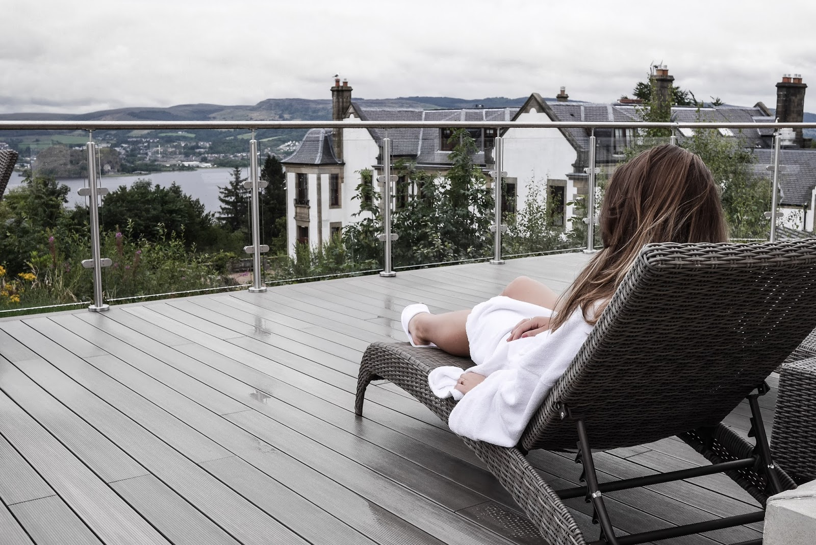 A Perfect Pamper Trip In Scotland with Almost Chic, Lafotka and The Girl in The Tartan Scarf // Gleddoch Hotel and Spa Scotland, Review