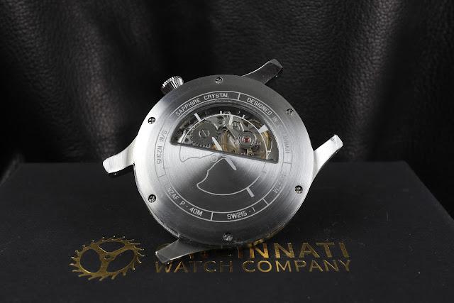 Cincinnati Watch Co. P-40M Mechanical case back