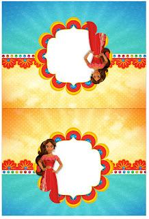 Etiquetas de Elena de Avalor para imprimir gratis.