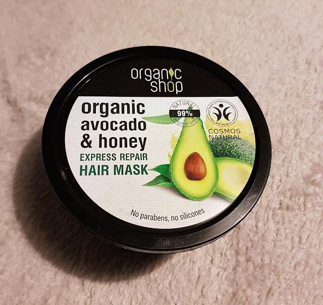 Organic Shop Avocado and Honey Express Hair Mask