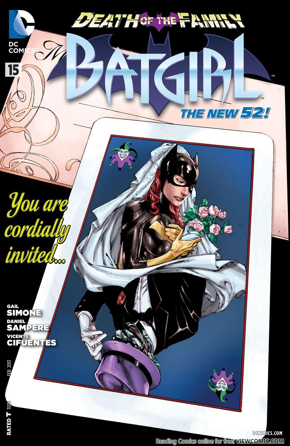 Batgirl Comics Porno Comics death of the family – 18 – batgirl 015 | viewcomic reading