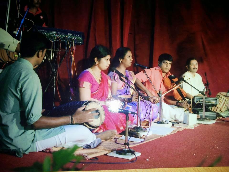 Hamsathvani Carnatic Music Academy: March 2015