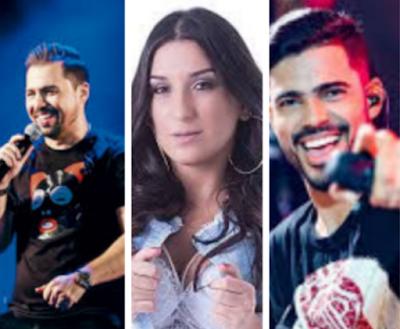Xandy  Avião, Luanzinho Moraes e Gil Mendes estão confirmados na Festa do Feijão em  Senador Rui Palmeira