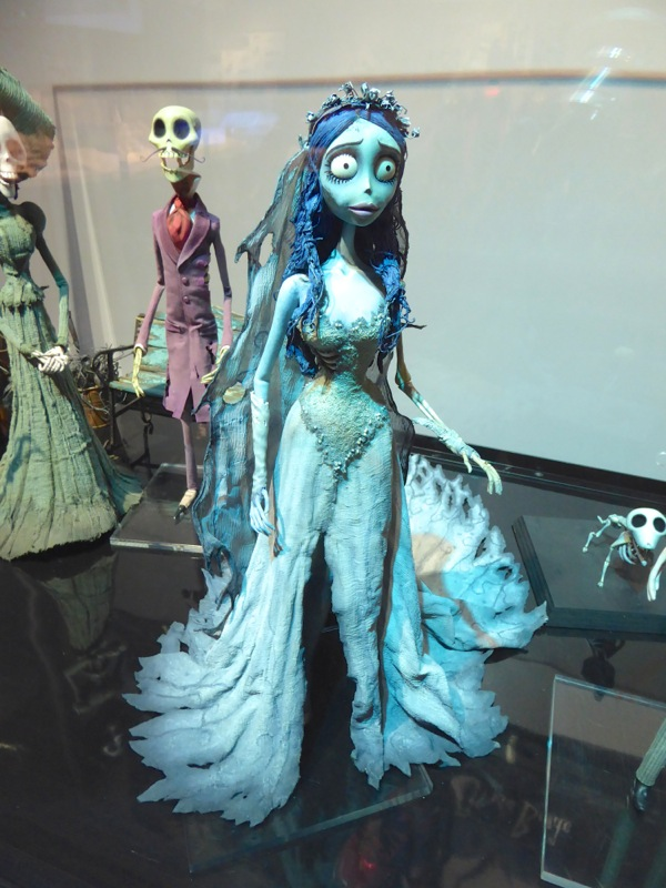 Emily Corpse Bride stop-motion puppet