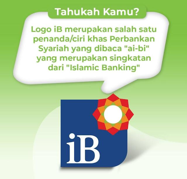 Logo iB di Bank Syariah