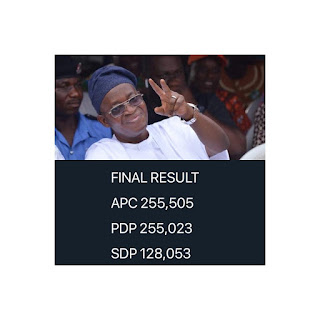 INEC declares Oyetola winner of Osun governorship election