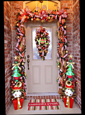 Outdoor Christmas Decorations For Front Door Unique and Antique Amazing Photo
