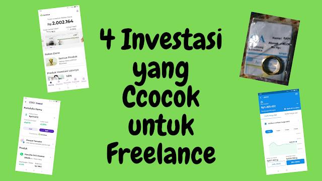 investasi yang pas dan sesuai untuk freelance