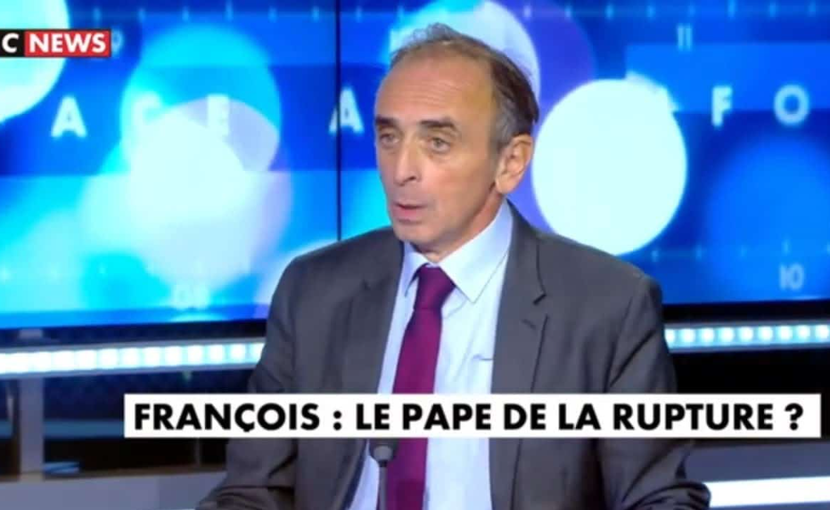 VIDEO - Éric Zemmour : « Le pape François est un ennemi de l'Europe ! »