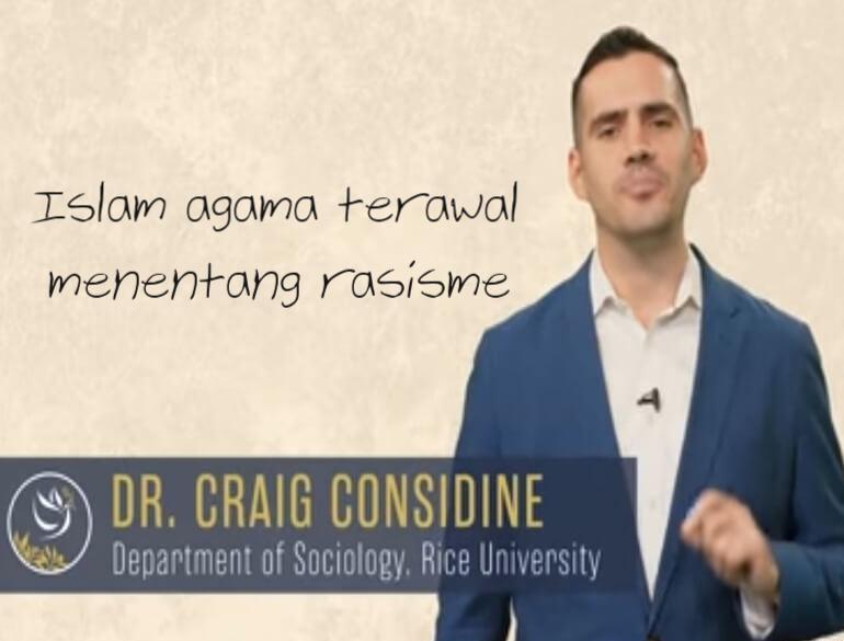 Dr Craig anti rasis