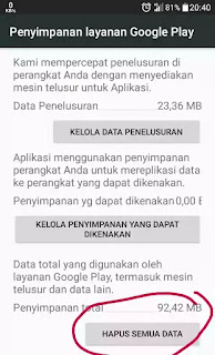 Cara mengatasi play store kesalahan server dan stoped working