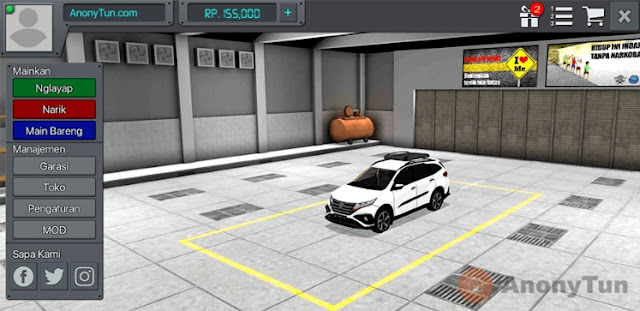 MOD BUSSID Mobil All New Toyota Rush