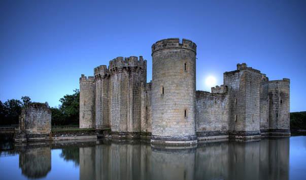 Castelo de Bodiam, Sussex Inglaterra
