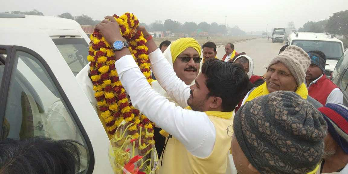 Siddharth%2BRajbhar%2Bvaransi%2B2 वाराणसी युवा जिला अध्यक्ष द्वारा वाराणसी की धरती पर मा. ओमप्रकाश राजभर जी का स्वागत ।