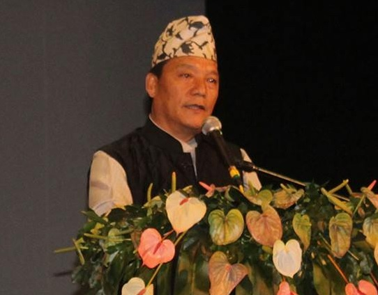 Bimal Gurung Speaking on the occasion of the 23rd Bhasa Diwas in Darjeeling organised by the Gorkha Janmukti Yuwa Morcha (GJYM)