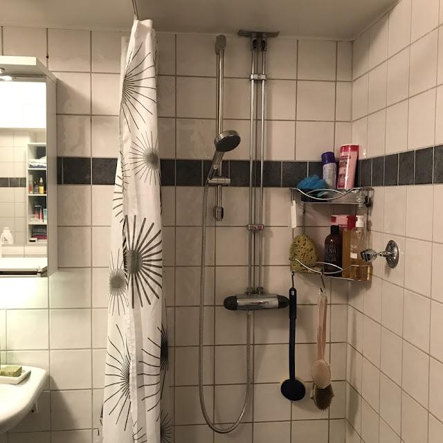 duschhållare, ikea, brogrund