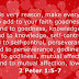 2 Peter 1-5-7