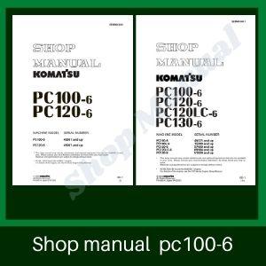 Komatsu pc100-6 pc120-6 0c130-6