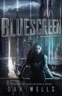 Bluescreen by Dan Wells book cover